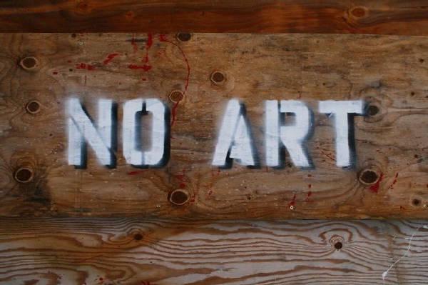 No art