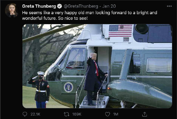 Greta Thunberg's Twitter